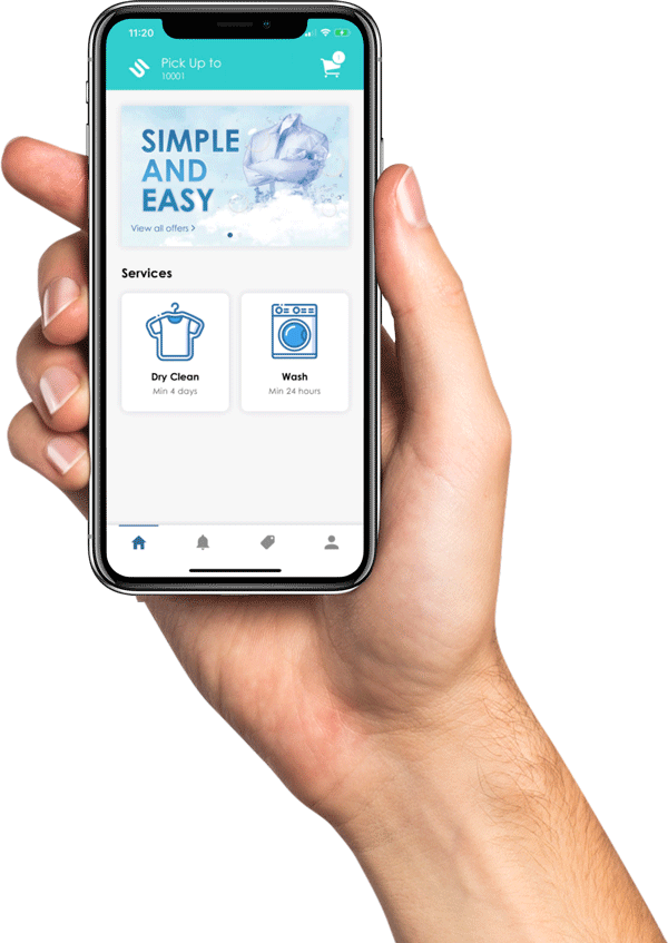 Simplified Cleaner Laundry Dry Cleaning